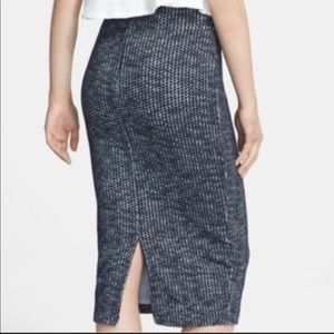 Free People Heartbreaker Knit Pencil Skirt